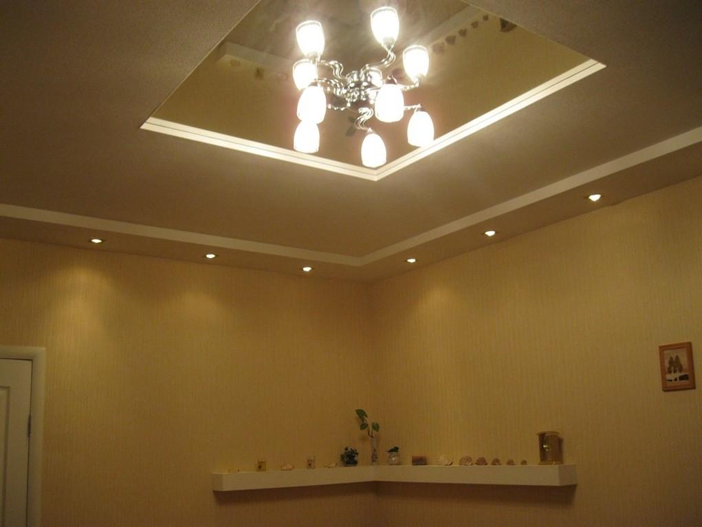 Как разместить светильники на потолке