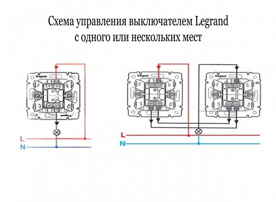 Правила и схема подключения выключателя света с одной клавишей