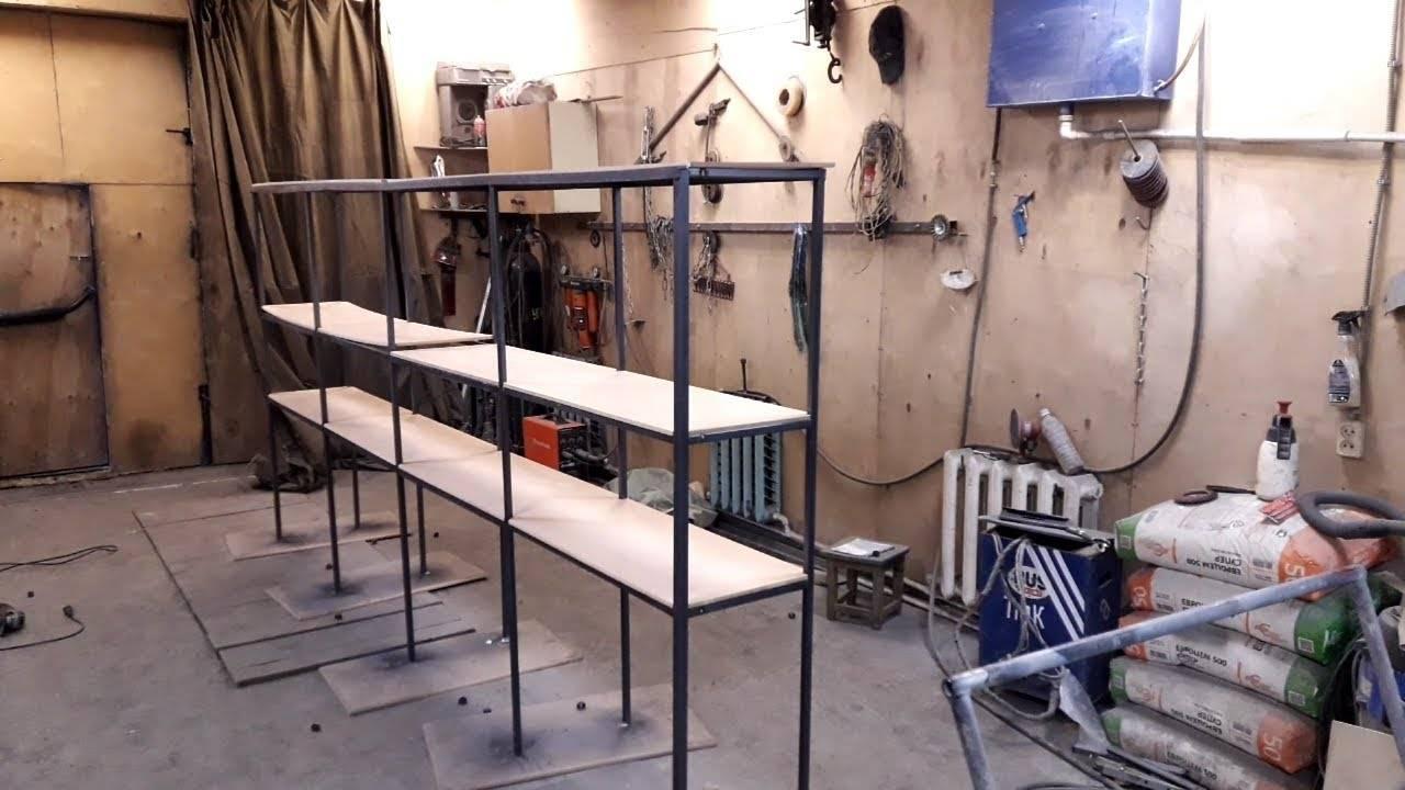 Как сделать самостоятельно в гараже полки для инструментов