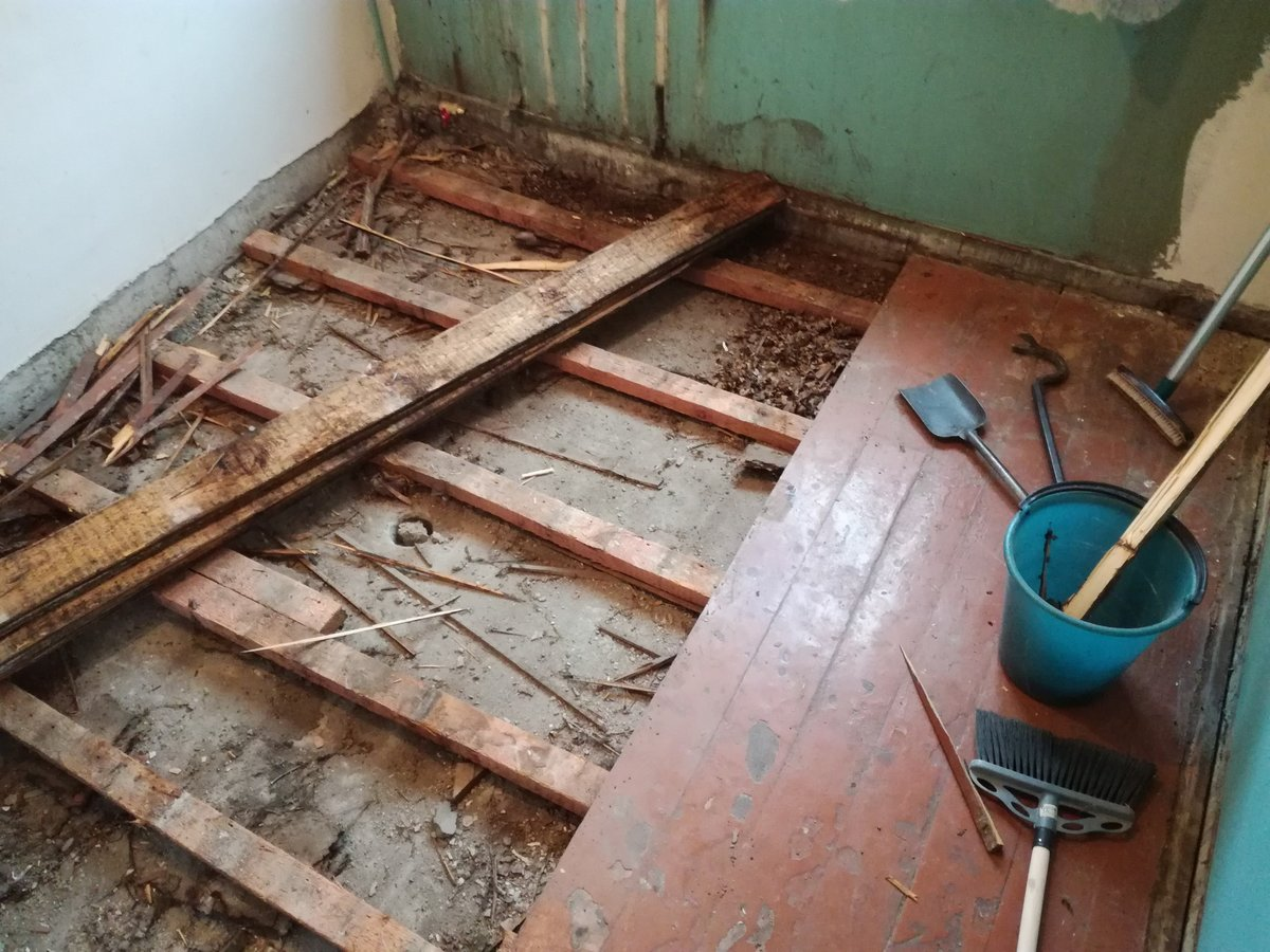 Ремонт полов в хрущевке: делаем ремонт деревянного пола своими руками
