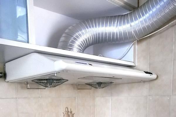 Какой воздуховод выбрать для кухонной вытяжки